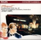 MOZART - Krips - Symphonie n°29 en la majeur K.201 (K6.186a)