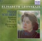 SCHUBERT - Leonskaja - Fantaisie pour piano op.15 en do majeur D.760 'Wa
