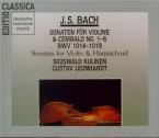 BACH - Kuijken - Sonate pour violon et clavier n°1 en si mineur BWV.1014