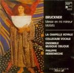 BRUCKNER - Herreweghe - Messe n°2 en mi mineur WAB 27
