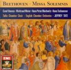 BEETHOVEN - Tate - Missa solemnis op.123