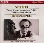 SCHUBERT - Brendel - Sonate pour piano en la mineur op.42 D.845