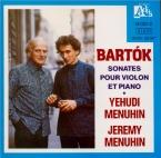 BARTOK - Menuhin - Sonate pour violon et piano n°1 op.21 Sz.75