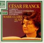 FRANCK - Alain - Choral n°1 pour orgue enmimajeur FWV.38