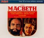 VERDI - Leinsdorf - Macbeth, opéra en quatre actes (version italienne)