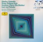GRIEG - Karajan - Holberg suite op.40 : version pour orchestre à cordes