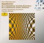 MENDELSSOHN-BARTHOLDY - Abbado - Symphonie n°3 en la mineur op.56 'Schot