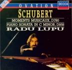 SCHUBERT - Lupu - Six moments musicaux, pour piano op.94 D.780