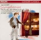 MOZART - Krips - Symphonie n°40 en sol mineur K.550