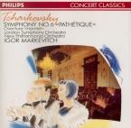TCHAIKOVSKY - Markevitch - Symphonie n°6 en si mineur op.74 'Pathétique'