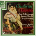 CHABRIER - Jordan - Espana, pour deux pianos