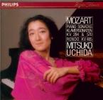 MOZART - Uchida - Sonate pour piano n°6 en ré majeur K.284 (K6.205b) 'Dü