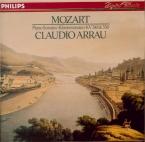 MOZART - Arrau - Sonate pour piano n°8 en la mineur K.310 (K6.300d)