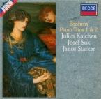 BRAHMS - Katchen - Trio avec piano n°1 en si majeur op.8