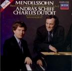MENDELSSOHN-BARTHOLDY - Schiff - Concerto pour piano et orchestre n°1 en