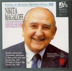 MENDELSSOHN-BARTHOLDY - Magaloff - Variations sérieuses, dix-sept variat