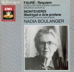 FAURE - Boulanger - Requiem pour voix, orgue et orchestre en ré mineur o