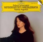 SCHUMANN - Argerich - Kinderszenen (Scènes d'enfants), treize pièces pou