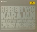 Herbert von Karajan : les premiers enregistrements