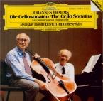 BRAHMS - Rostropovich - Sonate pour violoncelle et piano n°1 en mi mineu