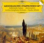 MENDELSSOHN-BARTHOLDY - Abbado - Symphonie n°4 en la majeur op.90 'Itali