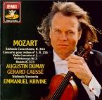 MOZART - Dumay - Sinfonia concertante pour violon, alto et orchestre en