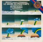 STRAVINSKY - Boulez - Petrouchka, ballet burlesque pour orchestre en 4 t