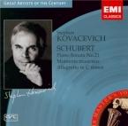 SCHUBERT - Kovacevich - Sonate pour piano en si bémol majeur D.960