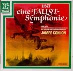 LISZT - Conlon - Faust symphonie, pour orchestre, ténor et choeur ad lib