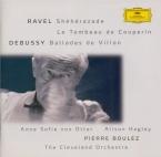 RAVEL - Von Otter - Schéhérazade, trois poèmes pour soprano ou ténor ave