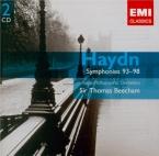 HAYDN - Beecham - Symphonie n°96 en mi bémol majeur Hob.I:96 'Miracle'