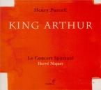 PURCELL - Niquet - King Arthur (Le Roi Arthur), semi-opéra Z.628