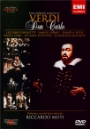 VERDI - Muti - Don Carlo, opéra (version italienne)
