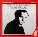 MOZART - Backhaus - Sonate pour piano n°10 en do majeur K.330 (K6.300h) Live Salzburg Festival 1956