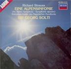 STRAUSS - Solti - Eine Alpensinfonie, pour grand orchestre op.64