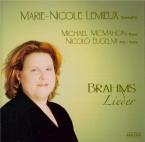 BRAHMS - Lemieux - Sechs Lieder, six mélodies pour une voix et piano op