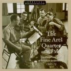 The Fine Arts Quartet at the WFMT Radio