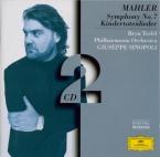 MAHLER - Sinopoli - Symphonie n°7 'Chant de la nuit'