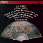 BACH - Leppard - Wachet auf, ruft uns die Stimme, cantate pour solistes