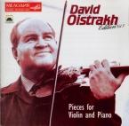 Edition David Oistrakh / vol.3 : Pièces pour violon et piano