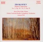 PROKOFIEV - Paik - Concerto pour piano et orchestre n°2 en sol mineur op