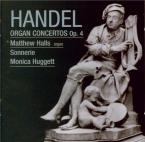 HAENDEL - Huggett - Six concertos pour orgue op.4 HWV.289-294