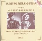VERDI - Herbert - La forza del destino, opéra en quatre actes (version 1 live new Orleans, 12 - 3 - 1953