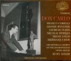 VERDI - Adler - Don Carlo, opéra (version italienne) live MET, 7 - 3 - 1962