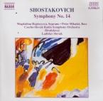 CHOSTAKOVITCH - Slovak - Symphonie n°14 op.135