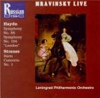 HAYDN - Mravinsky - Symphonie n°88 en do majeur Hob.I:88