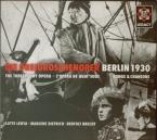 WEILL - Lenya - Die Dreigroschenoper (L'opéra de quat'sous) Berlin 1930