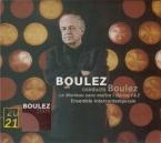 BOULEZ - Boulez - Le marteau sans maître