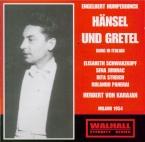 HUMPERDINCK - Karajan - Hänsel und Gretel (Hansel et Gretel) chanté en italien