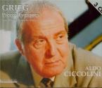 GRIEG - Ciccolini - Pièces lyriques
